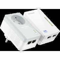 Kit Extenseur CPL AV500 Wi-Fi N 300 avec prise Gigogne