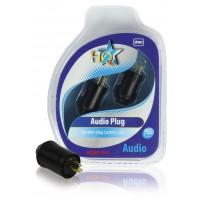 HQ fiches audio haut-parleur à visser (2x)