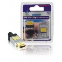 FICHE HDMI 19P AWG30 HQ