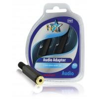 HQ fiche audio 3.5mm femelle stéréo (2x)