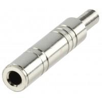 Valueline 6.35 mm metal mono jack line socket