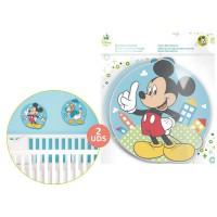DISNEY - sticker mural mousse Mickey Disney 28cm 2u