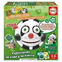 EDUCA BORRAS - Educa BorrAsLos Animalistos (Français Non Garanti) Educa Panda Bear Jeu Haku Animalisto