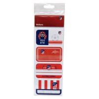 CYP BRANDS - Atletico de Madrid Étiquettes Adhésives pour Livres