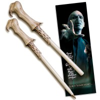 NOBLE COLLECTION - Harry Potter set stylo à bille et marque-page Lord Voldemort