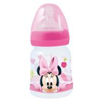 STOR - Disney Minnie bébé bouteille de 150ml wideneck tétine en silicone