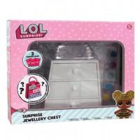 LOL SURPRISE - L.O.L. Surprise Boîte à Bijoux pour Fille Coffret pour Bijou Activité Créatif trousseati Series Confetti Pop