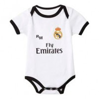 REAL MADRID - Real Madrid Fly Emirates corps blanc bleu