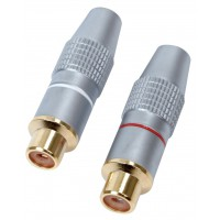 HQ High quality RCA audio sockets (2x)