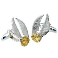 THE CARAT SHOP - Harry Potter Silver Golden Snitch cufflinks bouton de manchettes