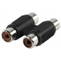 Valueline adapter plug 2 phono sockets to 2 phono sockets