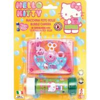 DULCOP - Hello Kitty Machine à Bulles en Forme d'Appareil Photo + Recharge (Dulcop 69500141000)