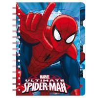 ASTRO EUROPA - Astro Europa Carnet Spiderman Marvel marqueurs de page