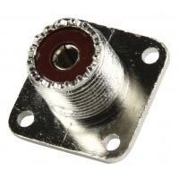 Valueline PL259 chassis socket