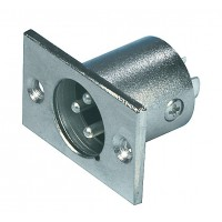 Valueline 3p XLR male chassis mount