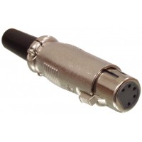 Valueline XLR female plug