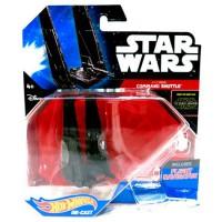 HOT WHEELS - véhicule Shuttle Commande Hot Wheels Star Wars Kylo Ren