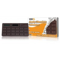 basicXL calculatrice jumbo chocolat