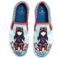 SANTORO LONDON - chaussures de sport bleu Gorjuss