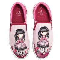 SANTORO LONDON - chaussures de sport rose Gorjuss