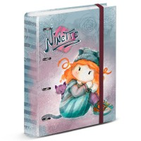 KARACTERMANIA - Ninette Forever A4 folder with sheets classeur