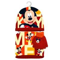 - Kids Mickey Set Braga Polar+Gorro+guantes, Ensemble Bonnet, écharpe et Gant Garçon, Multicolore Color, Unique (Taille Fabr