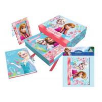 ASTRO EUROPA - La reine des neiges coffret cadeau journal intime + album photo