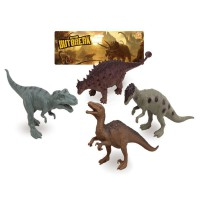 AURORA - Assortiment de dinosaures 4pcs