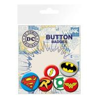 GB EYE - GB Eye LTD, DC Comics, Logos, Set de Badges