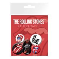 GB EYE - GB eye LTD, The Rolling Stones, Langue, Set de Badges