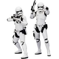 KOTOBUKIYA - Figurine Scale First Order Stormtrooper Artfx Plus Figure (Set of 2, White) Star Wars Jouet, SW107, Blanc, Standard