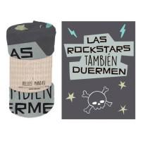 BAGGY - Coral Blanket phrase Rockstars
