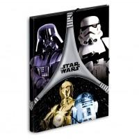 PERONA - Carpeta Star Wars flash A4 Gomas solapas