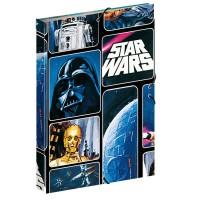 PERONA - Classeur élastique Gommes Star Wars Space