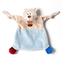 NICI - FCB FC Barcelona–Doudou Ours Peluche, 25x 25cm (Nici 40415)