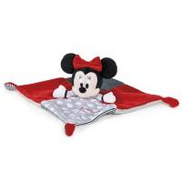 DISNEY - Famosa - Disney 760016647. Doudou Minnie Mouse.
