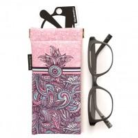 MAKENOTES - Violet & 38 cas de lunettes pâle