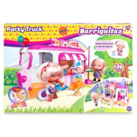 FAMOSA - Barriguitas–Party Truck, Multicolore (Famosa 700014514)