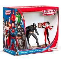 Lot de 4 - SCHLEICH - DC Comics Justice League Batman vs chiffres Harley Quinn