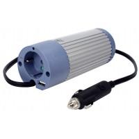 CONVERTISSEUR 12V DC VERS 230V AC 100W AVEC PORT USB HQ