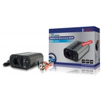 CONVERTISSEUR ONDE SINUSOIDALE MODIFIEE 400W 12V + USB HQ