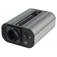 CONVERTISSEUR ONDE SINUSOIDALE MODIFIEE 600W 12V + USB HQ