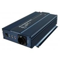 HQ pure sine inverter 12 - 230 V 1000 W schuko