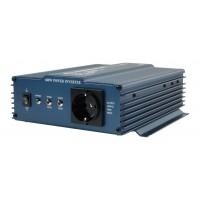 HQ pure sine inverter 24 - 230 V 600 W schuko