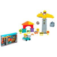 PLAYGO - PlayGo–Set de Construction avec lumières et Son Multicolore (colorbaby 44895)
