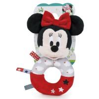 DISNEY - Jouet de Play - Disney 760016645. Sonajero de peluche Minnie Mouse.