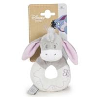 DISNEY - Disney Bebe Winnie the Pooh Eeyore soft Peluche rattle