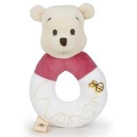DISNEY - Disney Bebe Winnie the Pooh soft Peluche rattle