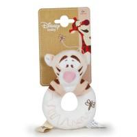 DISNEY - Disney Bebe Winnie the Pooh Tigger soft Peluche rattle