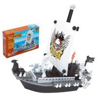 AUSINI - Jeu de construction de bateau pirate